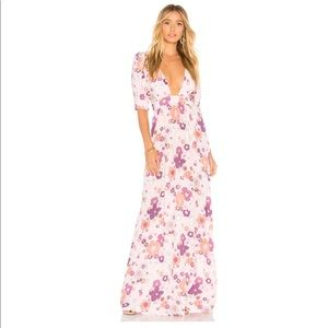 For Love and Lemons Magnolia Floral Maxi Dress 😍